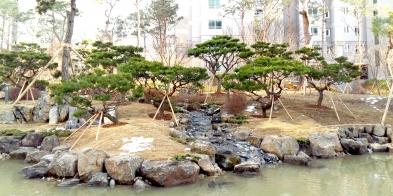 위례_그린파크푸르지오 ( 물숲정원, 암석원)